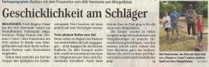 Schwetzinger Zeitung 05.09.2012