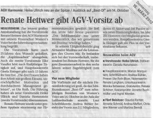 Schwetzinger Zeitung 15.03.2012