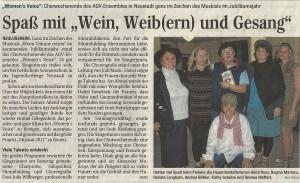 Schwetzinger Zeitung 23.03.2011