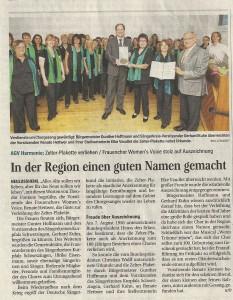 Schwetzinger Zeitung 19.09.2011