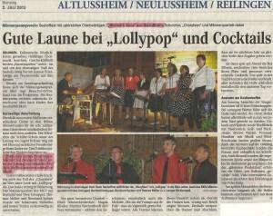 Schwetzinger Zeitung 02.07.2013