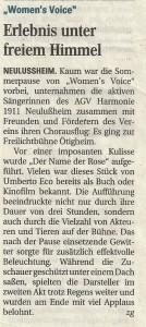 Schwetzinger Zeitung 27.08.2013