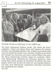 24.08.2013 Bericht Lußheimer Ötigheim 2
