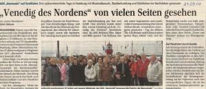 18.09.2008 Bericht Ausflug Hamburg