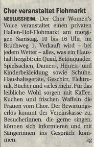 Schwetzinger Zeitung 25.10.2013