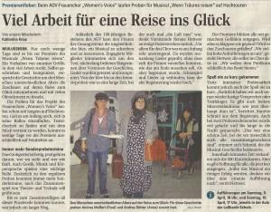 Schwetzinger Zeitung 01.04.2011