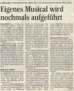 Schwetzinger Zeitung 13.05.2011
