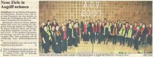 29.03.2003 Pressenotiz mit Chorwerbung