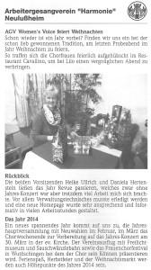 Lußheimer Nachrichten 09.01.2014