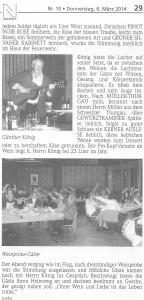 21.02.2014 Bericht Lußheimer Weinprobe Grillhütte 2