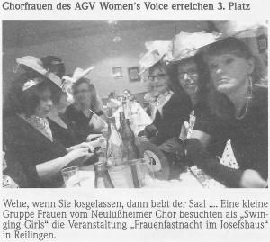 26.02.2014 Bericht Lußheimer Frauenfastnacht Reilingen 1