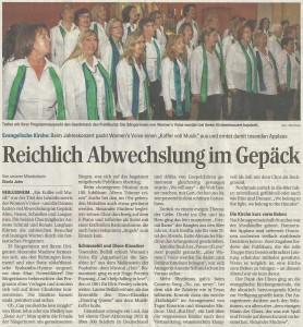 Schwetzinger Zeitung 31.03.2014
