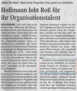 Schwetzinger Zeitung 13.05.2014