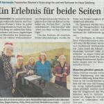 13.12.2014 Bericht Weihnachtssingen Haus Edelberg