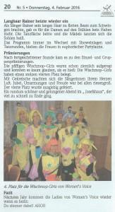 27.01.2016 Lußheimer Frauenfastnacht Reilingen 2