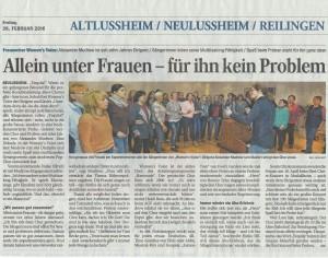 Schwetzinger Zeitung 26.02.2016