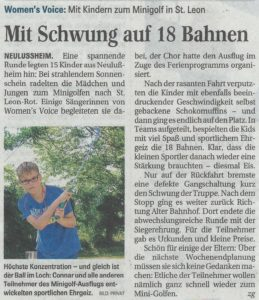 Schwetzinger Zeitung 20.08.2016